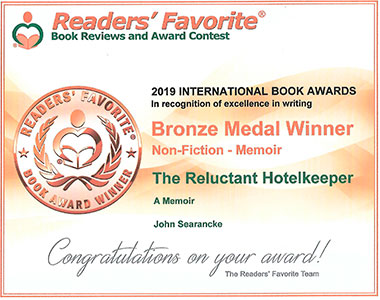 Readers Favorite - Certficate